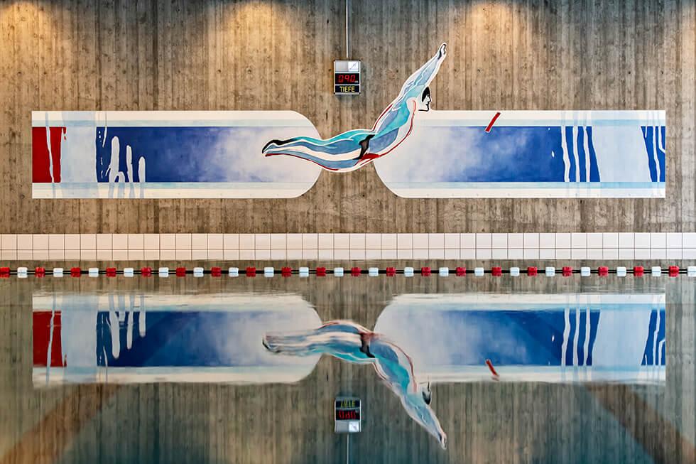 Schwimmbadgestaltung